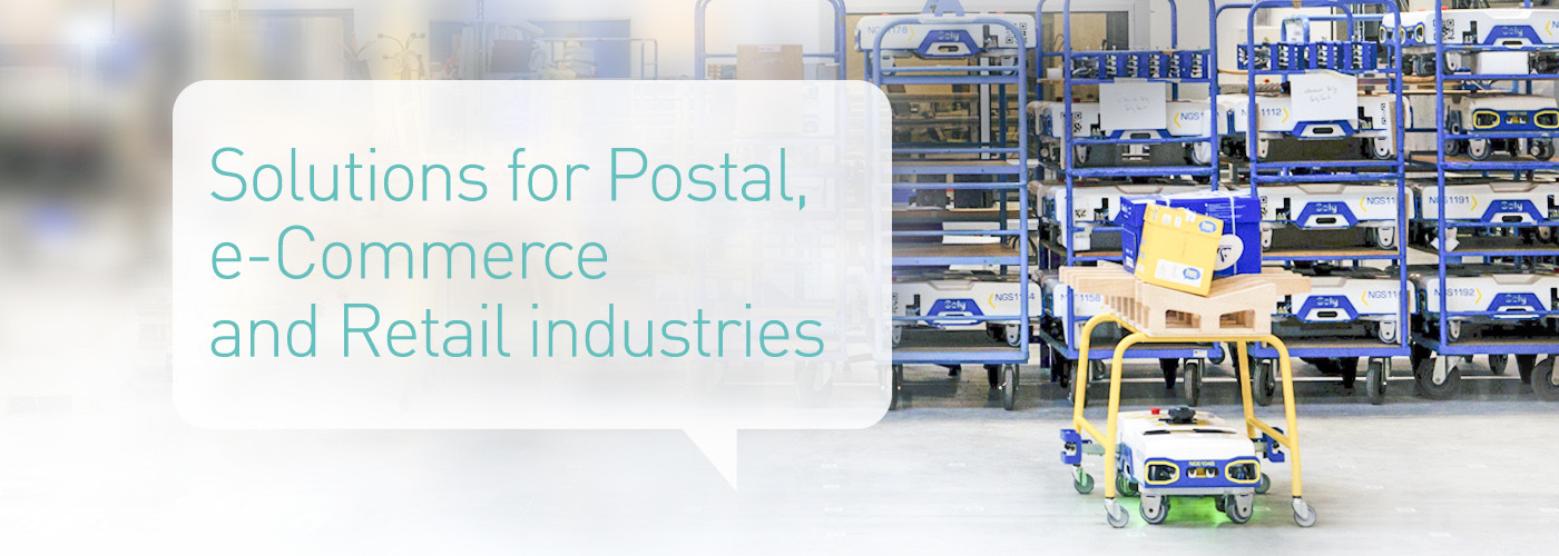 Solystic - Solutions for Postal, e-Commerce and Retail industries