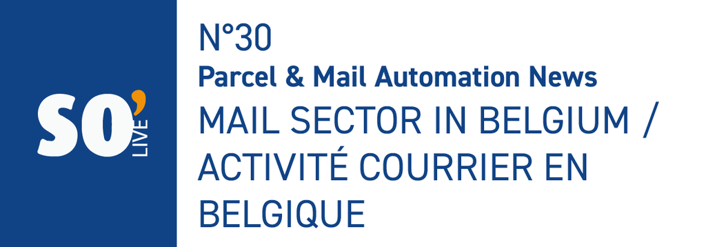 SO'Live n°30 - Mail sector in Belgium