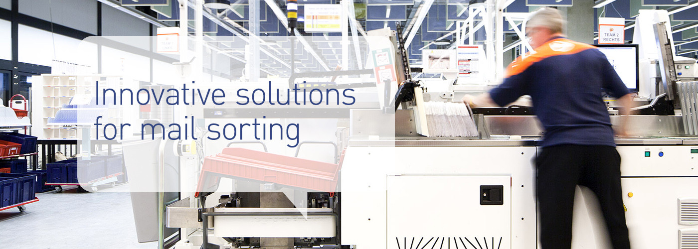 Solystic - Mixed mail sorting - Innovative solutions for mail sorting