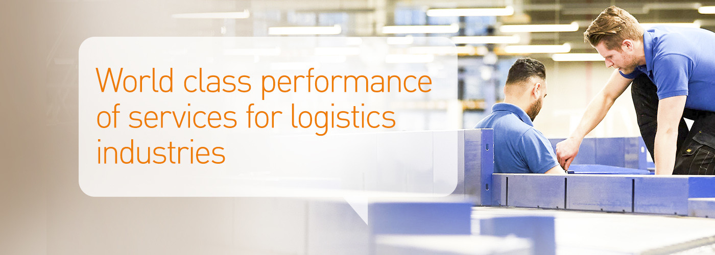 Solystic - Lifecycle services - World class performance of services for logistics industries