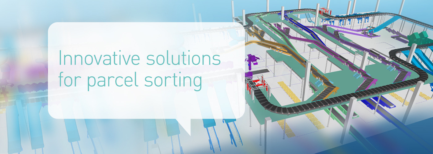 Solystic - Parcel sorting hubs - Innovative solutions for parcel sorting