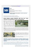 SO'Live n°14 - SOLYSTIC awarded by Poste italiane