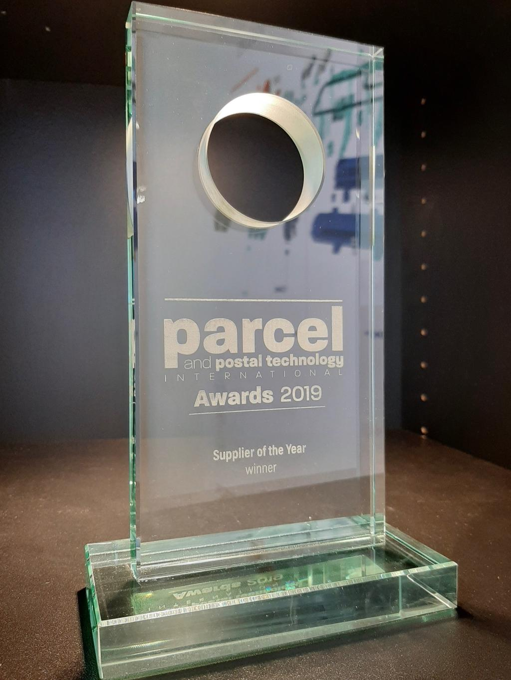 Parcel and postal technology - Awards Supplier of the year