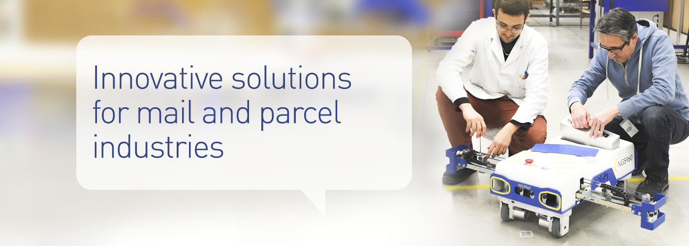 Solystic, Innovative solutions for mail and parcel industries