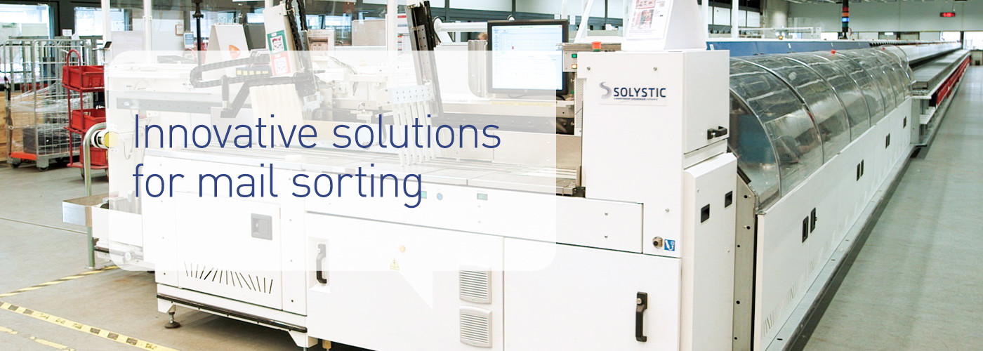 Solystic - Innovative solutions for mail sorting